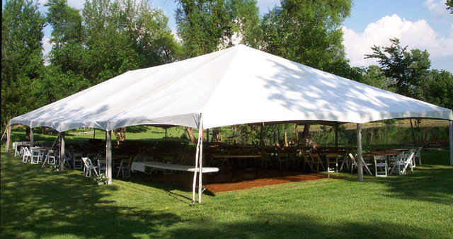 40' x 60' Master Series Frame Pole Tent
