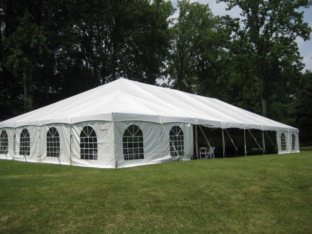 40' x 80' Master Series Frame Pole Tent