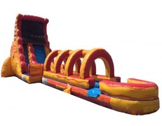 18 ft Volcano Screamer Slide W/POOL
