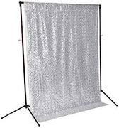 Premium Silver Sequin Backdrop