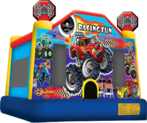 Racing Fun Bounce House