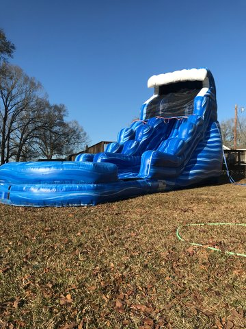 20' Blue wave waterslide
