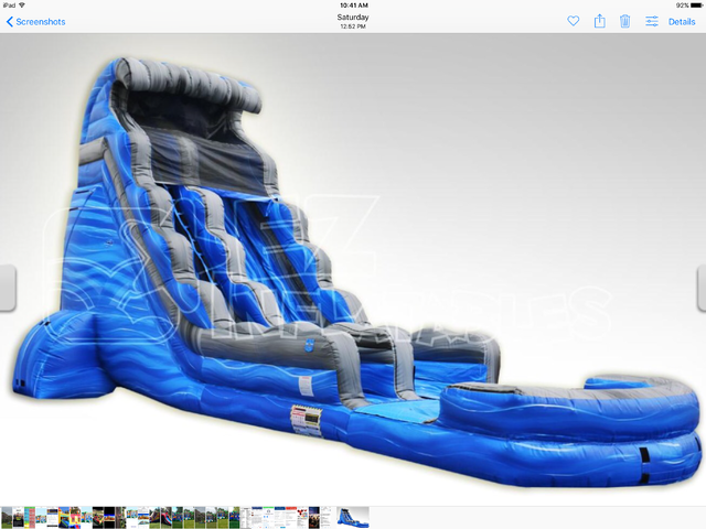 Dry 22' Laguna Waves Waterslide