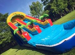 Dry 20ft Tropical Slide
