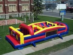 30ft Mega Obstacle Course