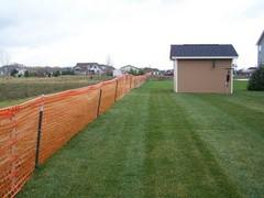 Orange Snow Fencing Per Foot
