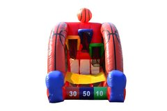 Inflatable Basketball Challange