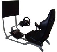 Racing Car Cockpit base rate up to 3 hrs