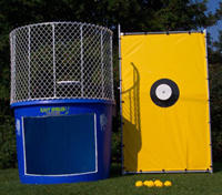 Mintos and Cola Dunk Tank
