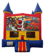 Christmas Bouncy Castle Combo