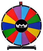 Prize Wheel Game Wheel Table Top