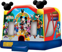 Mickey Mouse Park Bouncy Combo 4 in 1