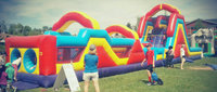 Monster Obstacle Course 2 Pcs. with Slide