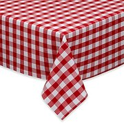 Table Cloth Red and White checkered