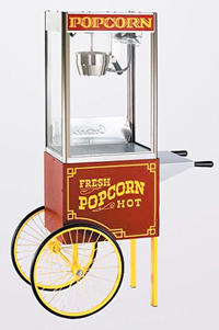 Popcorn Popper and Cart for Events
