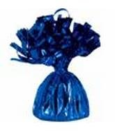 Blue Foil Weight Balloon