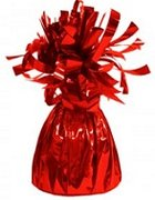 Red Foil Weight Balloon