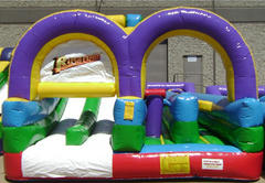 USED Rush Express Obstacle Course
