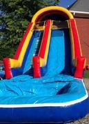 20ft  Wet Slide with Pool