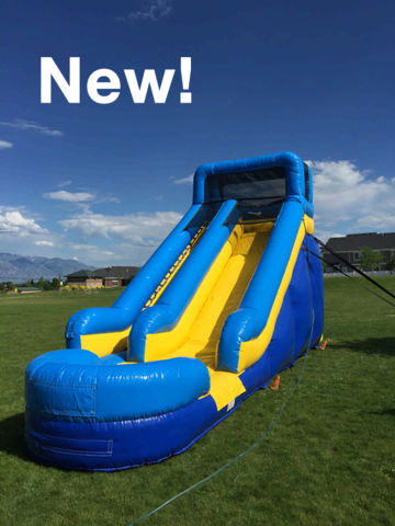 18 ft Splash Water Slide