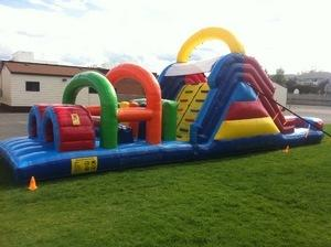 40 ft Wet Inflatable Obstacle Course
