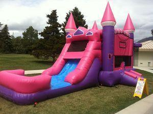 Pink/Purple Castle and Slide Dry Combo