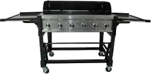 6-Burner Stainless Steel Gas Grill