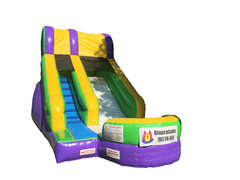 15 ft Inflatable Water Slide