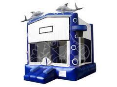 Dolphin Inflatable Bounce House