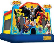 Justice League Superhero Bounce