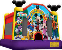 Disney Mickey Mouse Bounce House