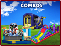 Maple Grove, MN combo inflatable moonwalk slide rental