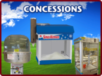 Maple Grove MN concession rentals including cotton candy popcorn nachos