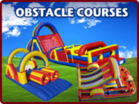 Maple Grove MN inflatable obstacle course rental