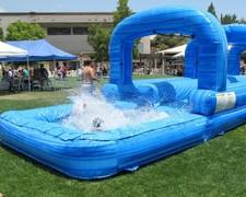 2 Lane Slip and Slide With Pool