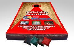 Giant Inflatable Bean Bag Toss Game