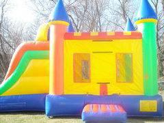 15 X 28 Multicolor 3 in 1 Bouncer with Slide Combo