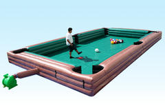 Human Billiards Challenge Game