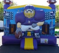 15 X 16 Minnesota Vikings Bounce House