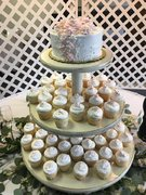 Crossroads Catering- Wedding Cake