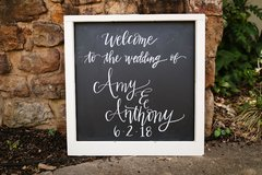 Window Frame Chalkboard