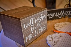 """Well Wishes"" Card Box"