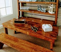 Childs Farm Table Benches