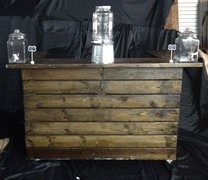 Dark Stained Bar