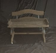 Antique Rocking Bench