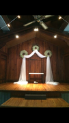 Wreath Draping