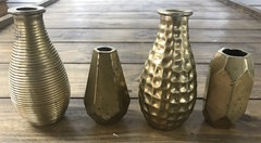 Small Brass Vases
