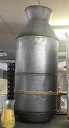 Large Galvanized Metal Milk Can