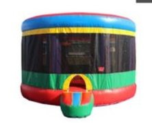 13 ft.. Round Bounce House