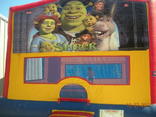 Shrek Bounce House